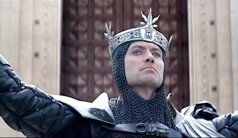 jude law, king arthur, legend of the sword