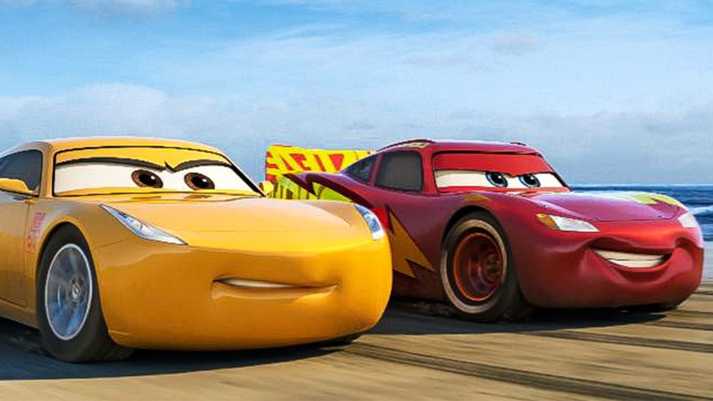 cars 3 movie, cruz ramirez, lightning mcqueen, cars 3 review