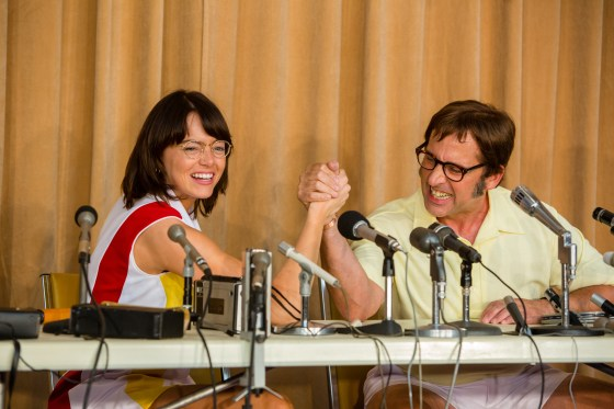battle of the sexes, emma stone, steve carell, tennis movies