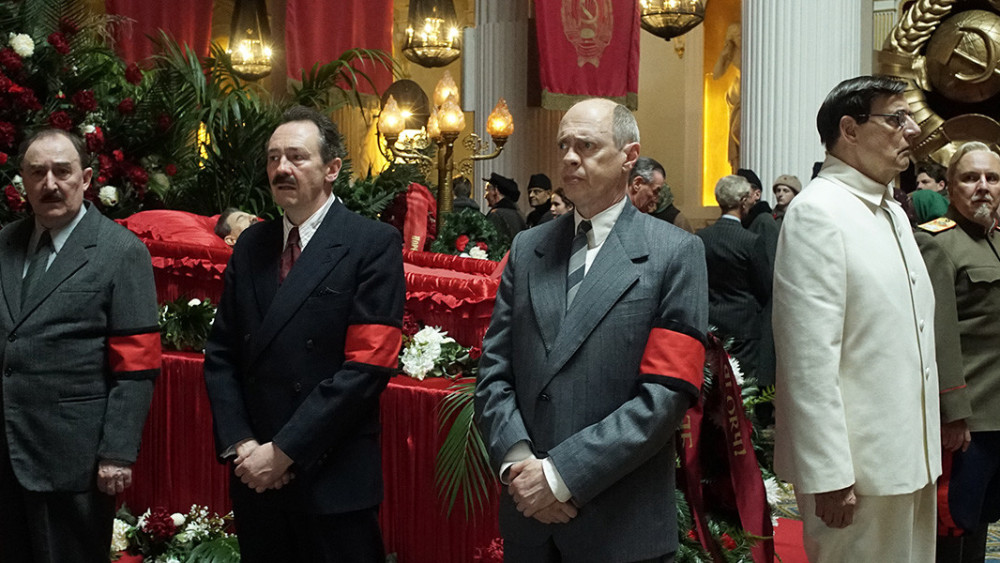 death of stalin, stalin movie, steve buscemi, best comedy 2018