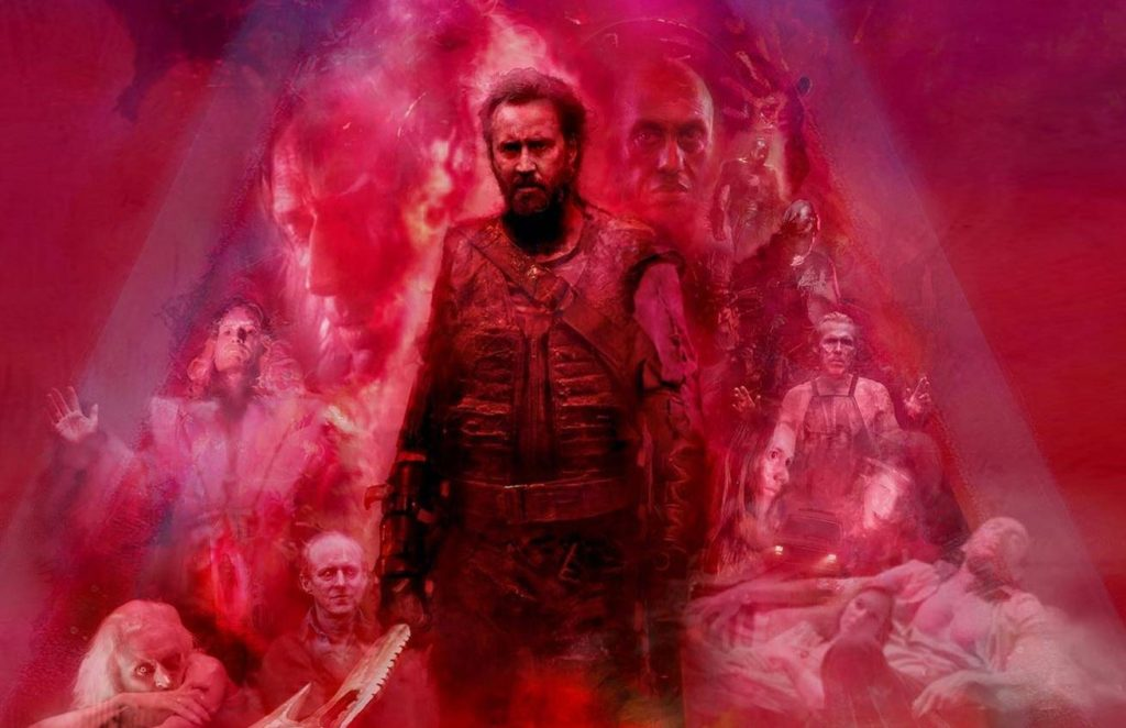 mandy, mandy movie, nicholas cage, demon biker movi