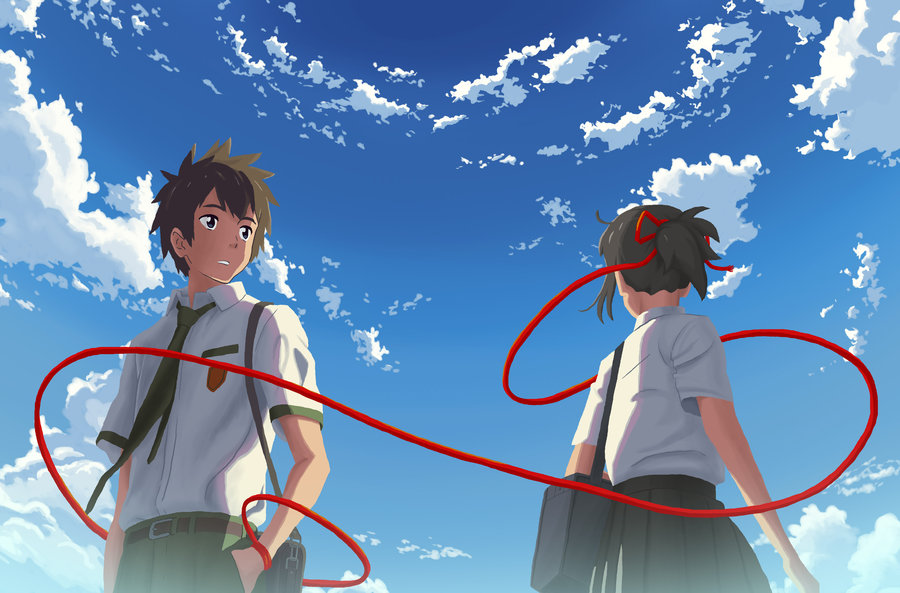 your name, best movies 2017, best anime, best japan animation